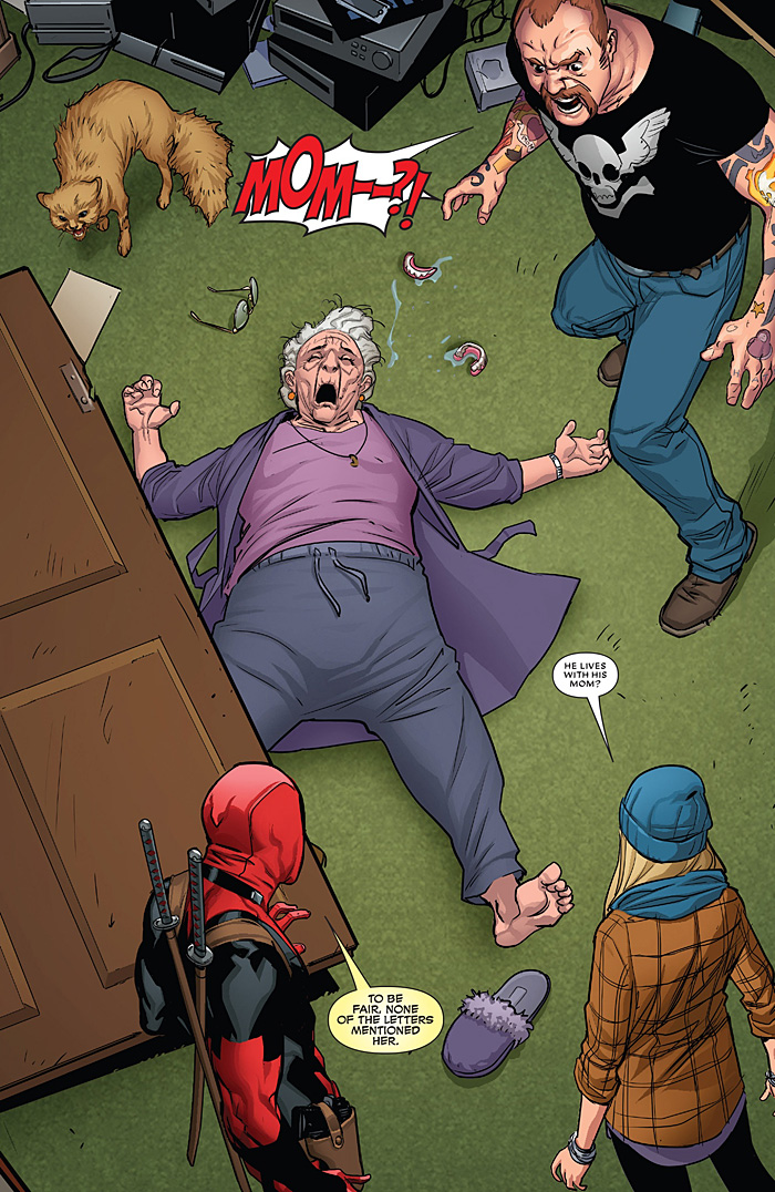 Deadpool Learns Un-Killing People is Hard