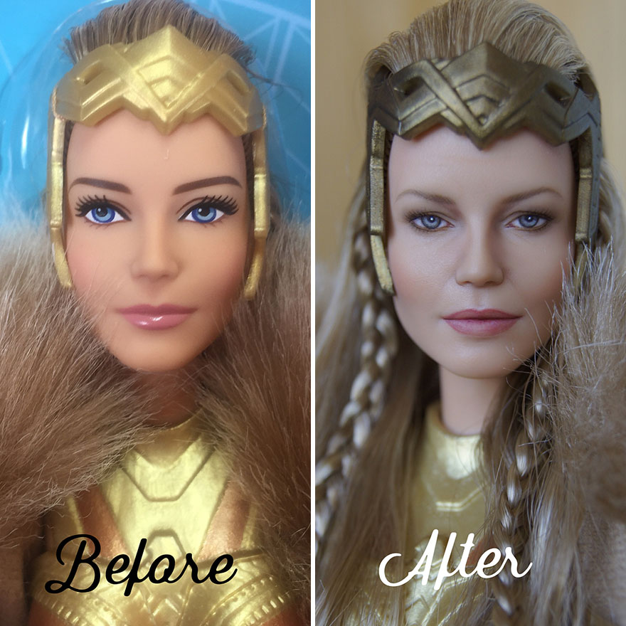 Realistic Doll Repaints