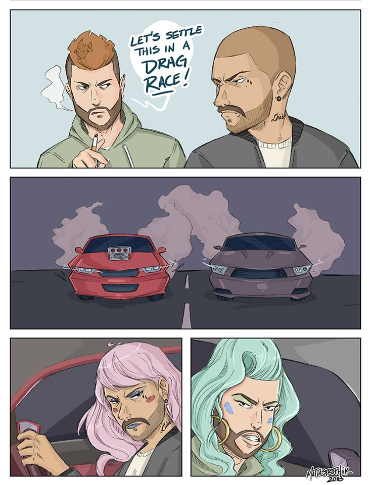 Drag Race Comic