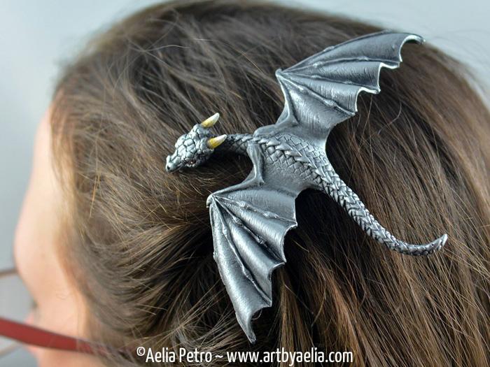 Dragon Hair Clips