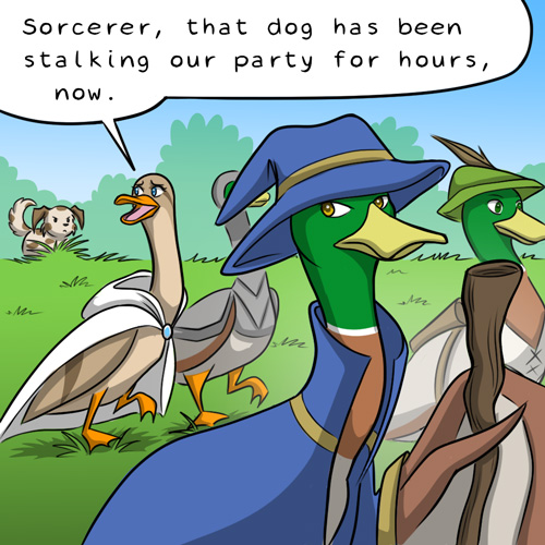 Magical Duckventures - Behind the Gif Comic