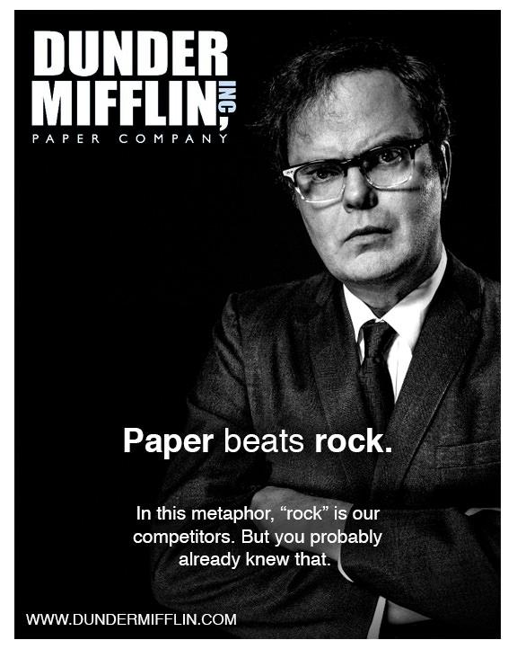 Dunder Mifflin Ads