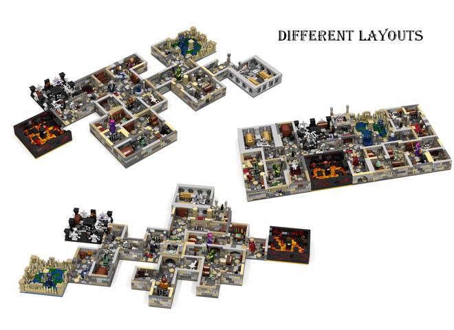 Dungeon Master LEGO Set