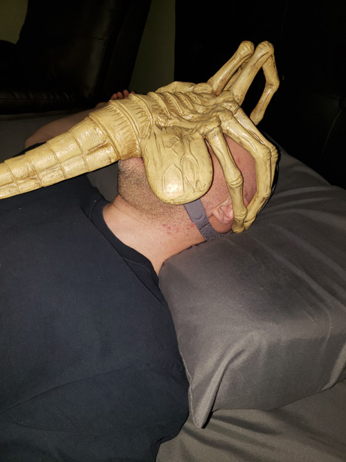 Alien Facehugger CPAP Mask