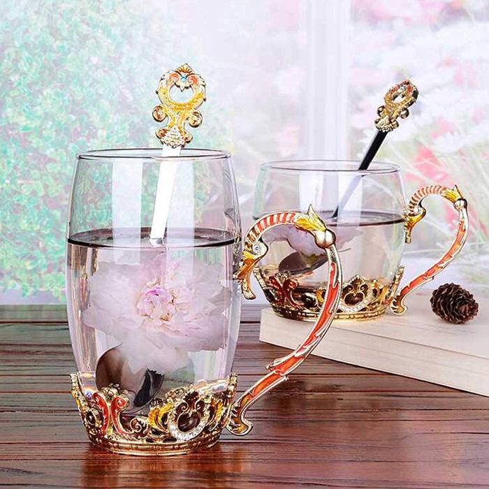 Ornate Fantasy Tea Cups