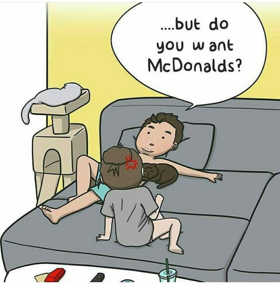 Fast Food Fat Comic