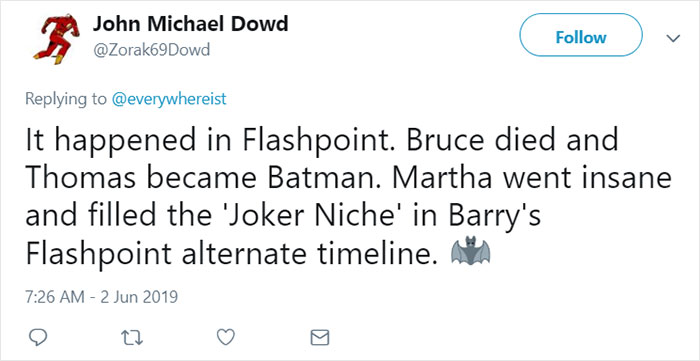 Womans Twitter Thread About a Female Joker Gets Trolled By Dudes
