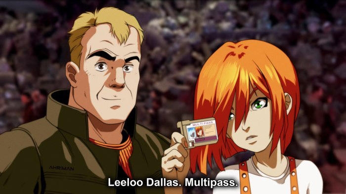 The Fifth Element Anime Style