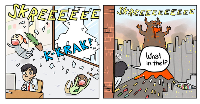 The Floor is Lava Comic