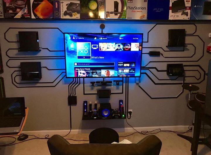 Epic Gaming Room
