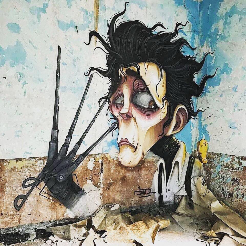 Amazing Geeky Graffiti Art