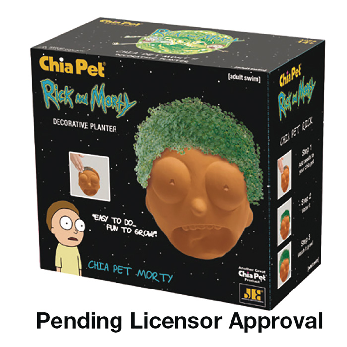 New Geeky Chia Pets