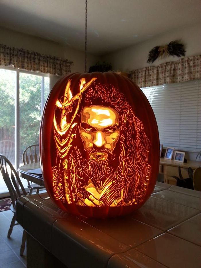 Geek Culture Icon Portraits Pumpkins