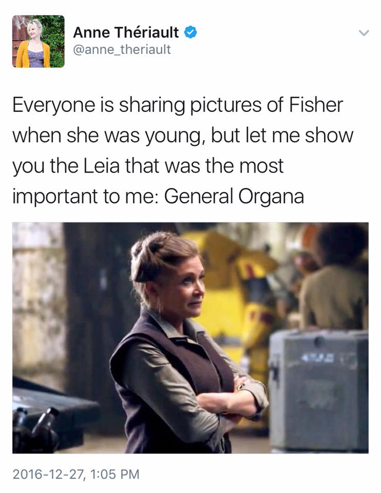 General Organa Appreciation post