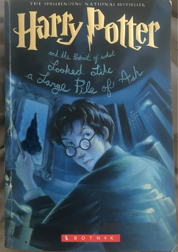 AI Generated Harry Potter Fan Fiction