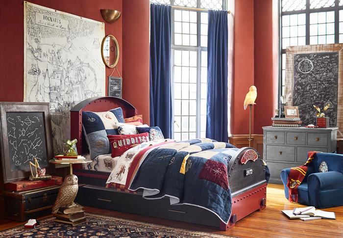 pottery barn harry potter collection. Black Bedroom Furniture Sets. Home Design Ideas