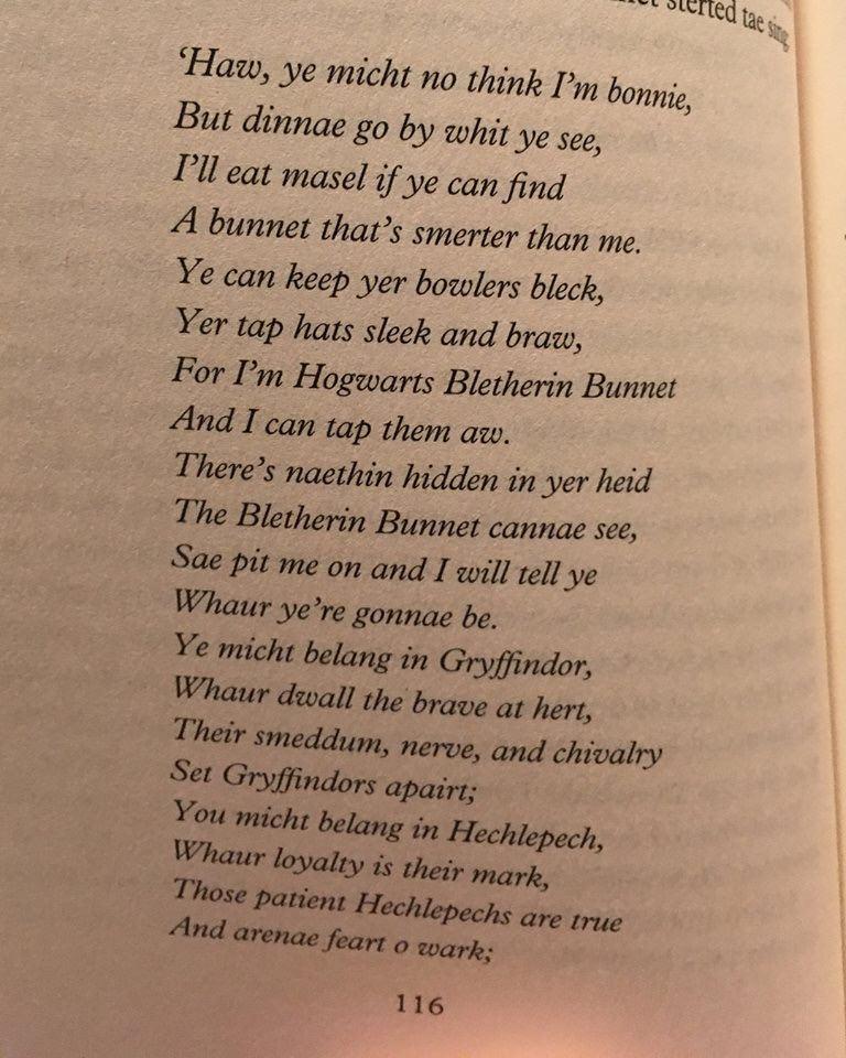 Harry Potter Scots Edition