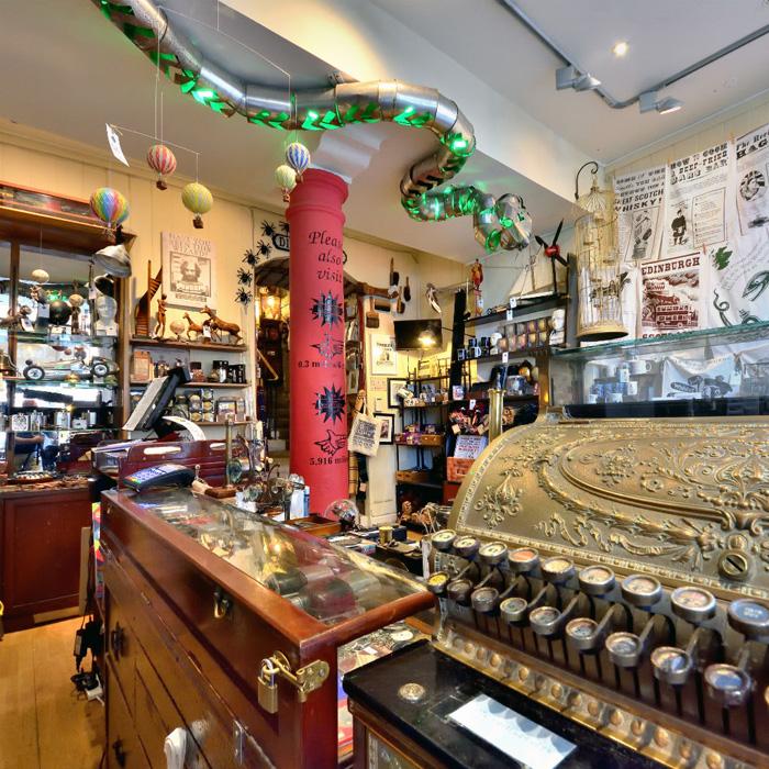 Harry Potter Shop in Edinburgh