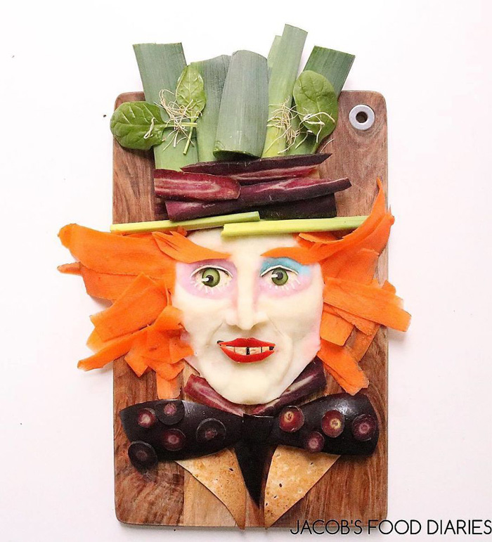 Healthy Food Made Into Geek Characters