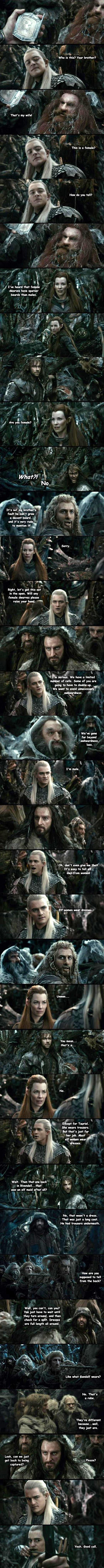 Genders in The Hobbit