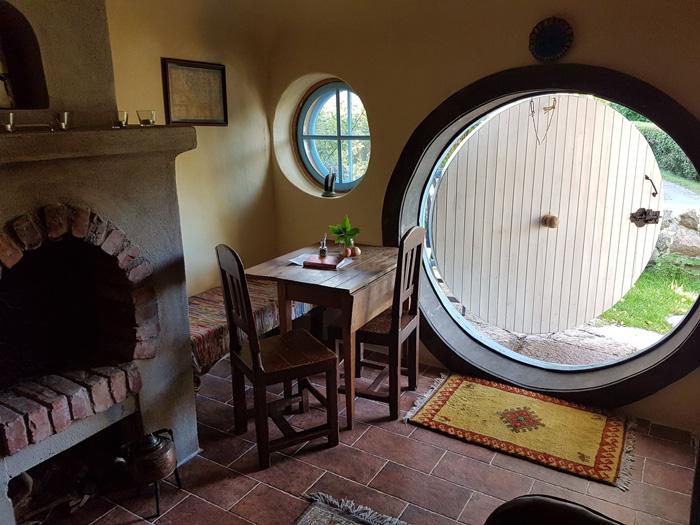 Hobbit House Hotel in Sweden