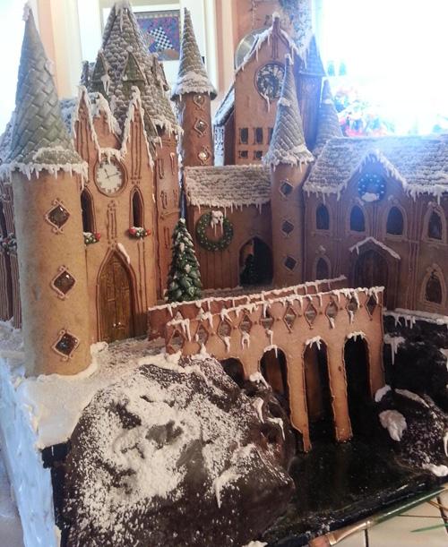 Hogwarts Gingerbread House