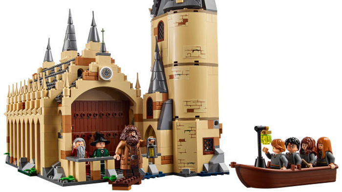 Legos New Harry Potter Hogwarts Great Hall Set