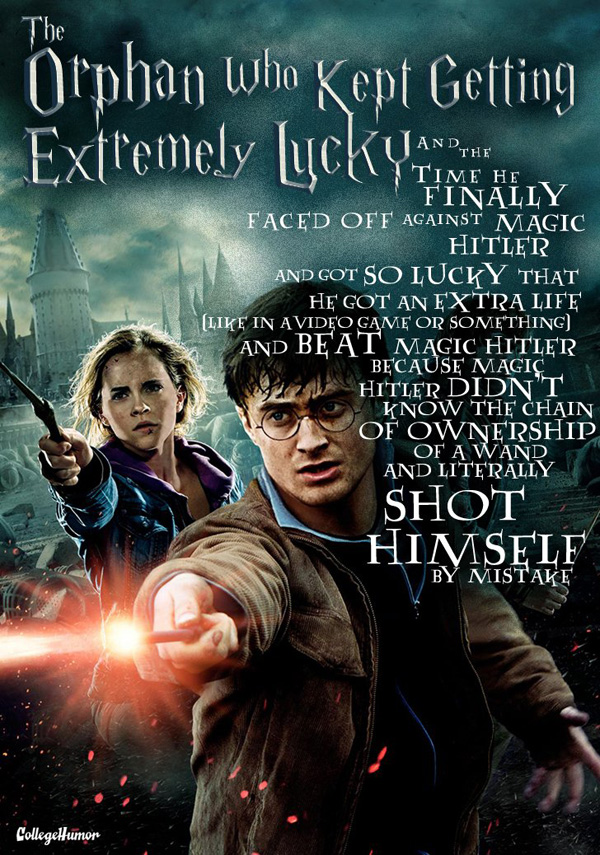 Honest Harry Potter Titles