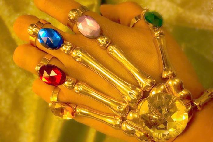 Infinity Gauntlet Inspired Jewelry