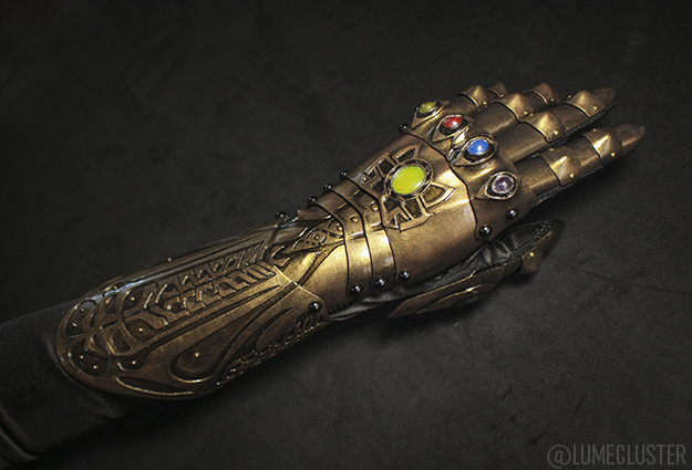 3D Printed Infinity Gauntlet from Avengers: Infinity War