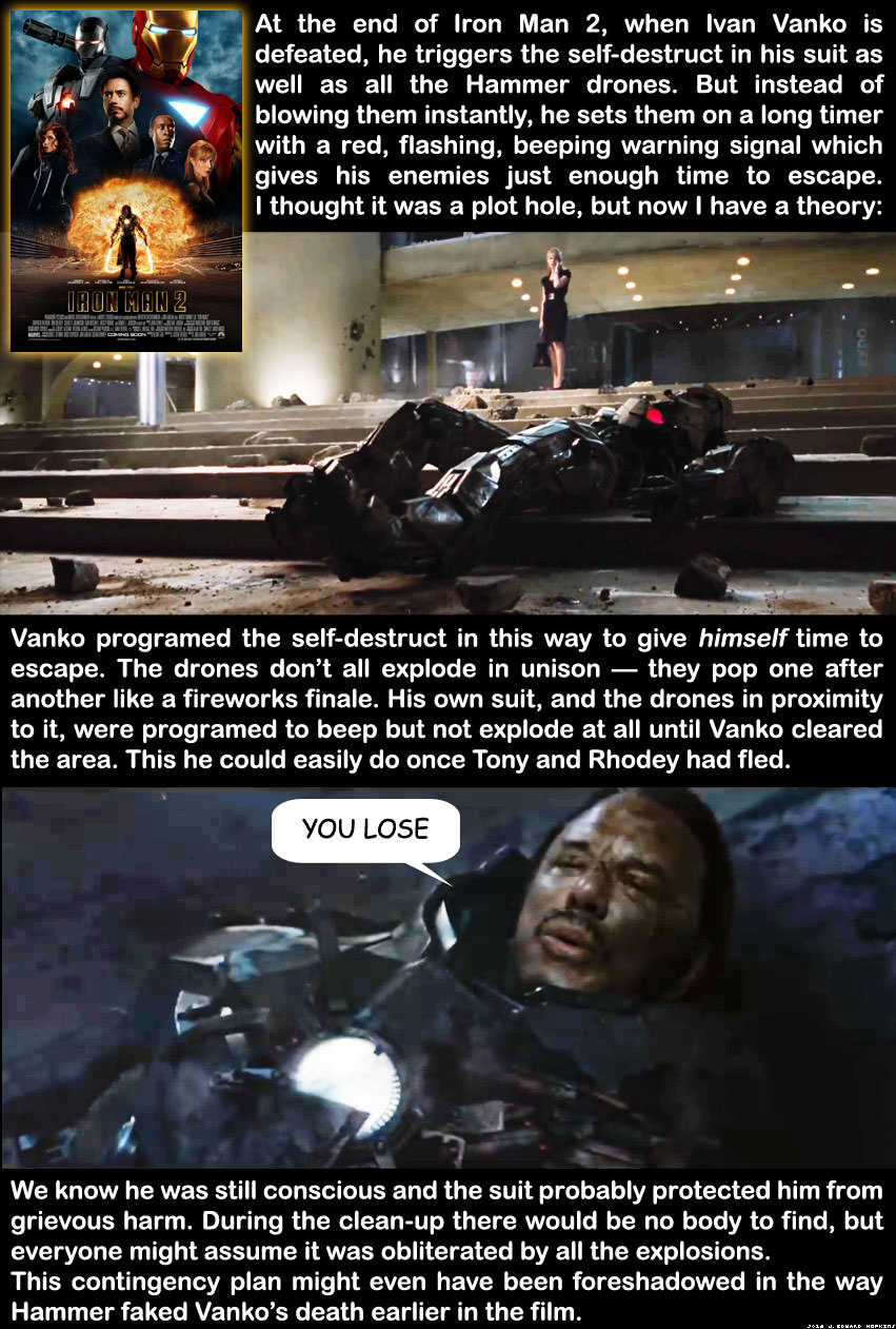 Iron Man 2 Fan Theory