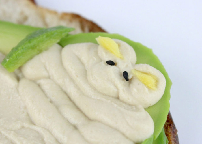 Jabba the Hutt Avocado Toast