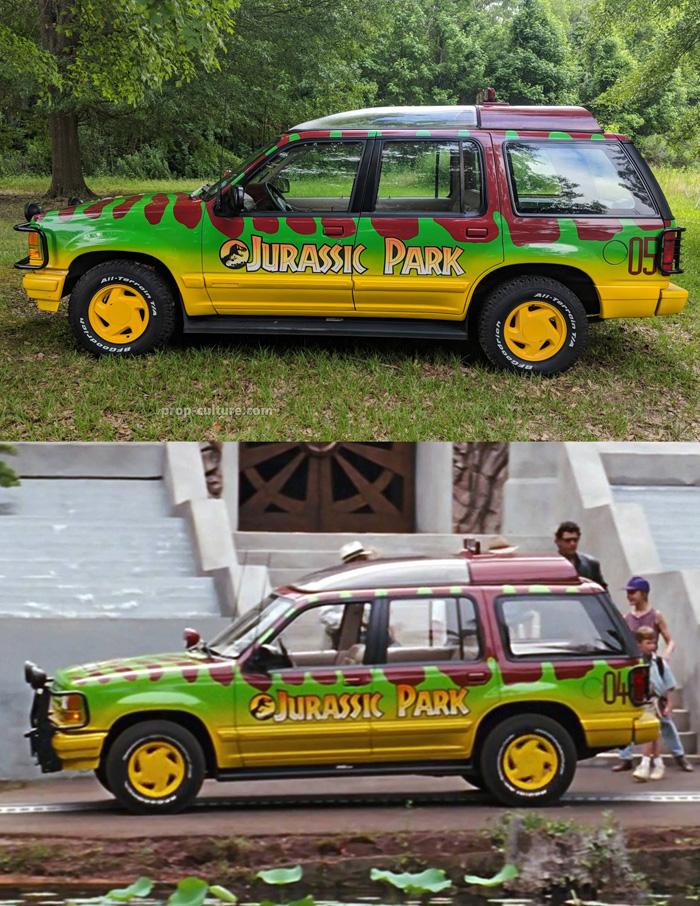 Jurassic Park Tour Vehicle Replica