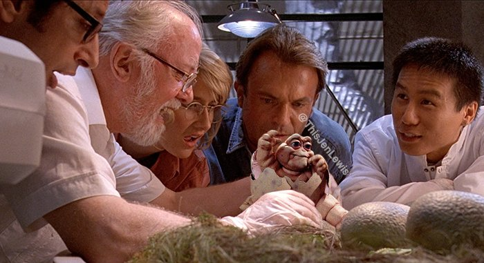 Jurassic Park with Dinos from Dinosaurs