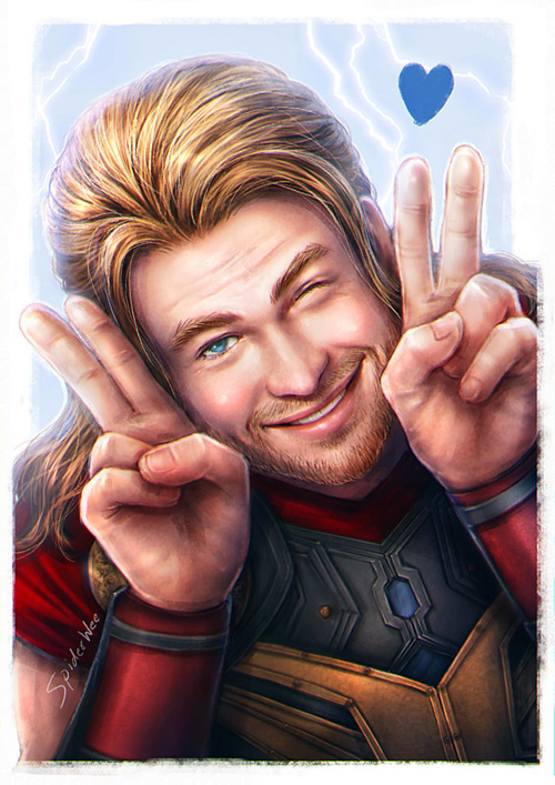 Kawaii Avengers Fan Art