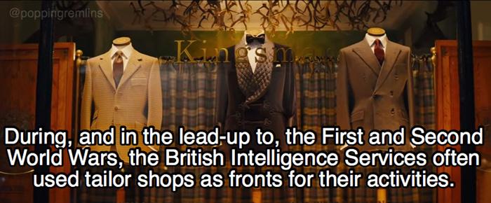 Kingsman: The Secret Service Facts