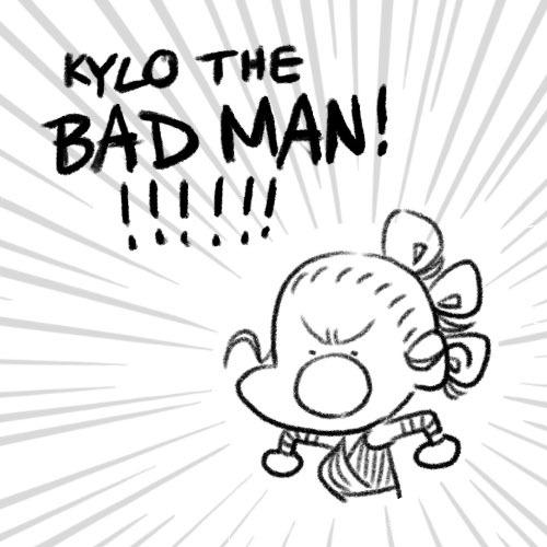 Bad Kylo Ren Comic
