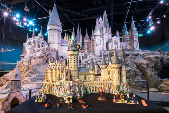 Giant Harry Potter LEGO Hogwarts Castle