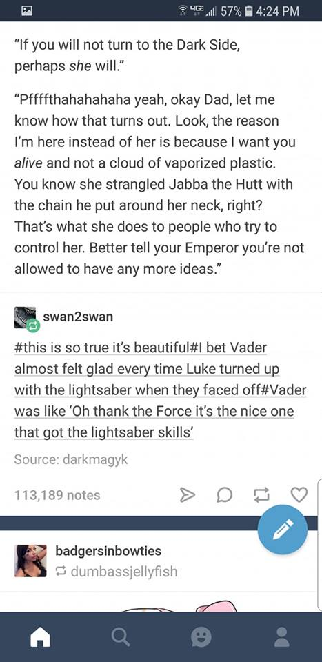 Theres Vader In Leia Too