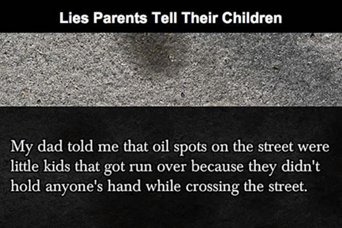 Funny Lies Parents Tell Their Kids