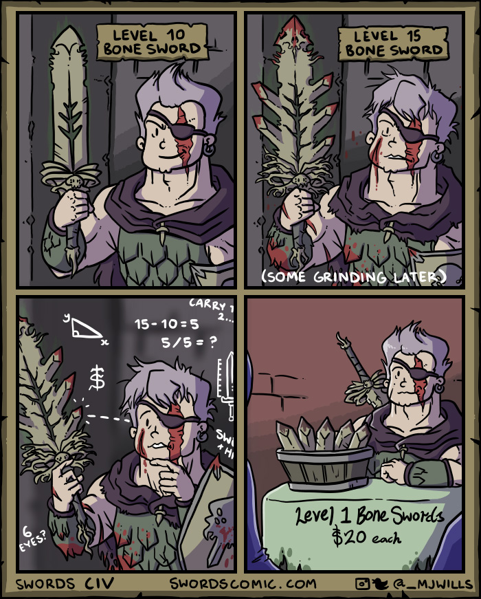 Magical Swords Comics