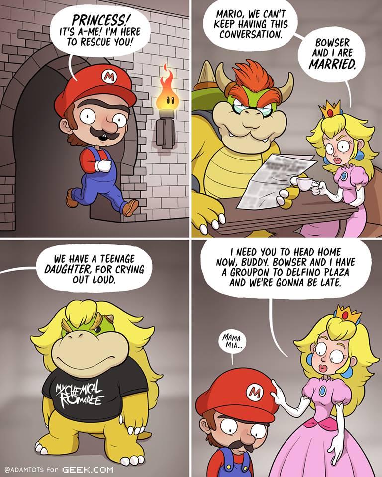 Poor Mario Comic