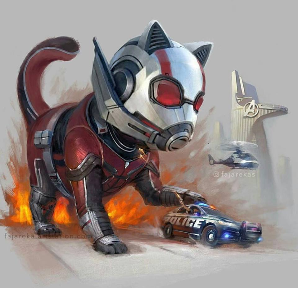 Marvel Cats Fan Art