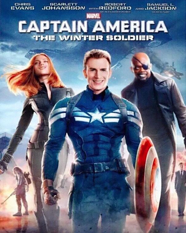 All Marvel Heroes Smiling for the Trolls Demanding Captain Marvel Smile