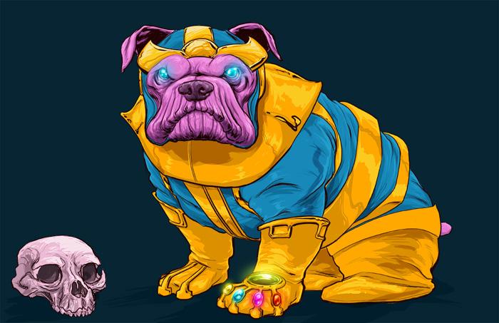 Marvel Dogs Fan Art