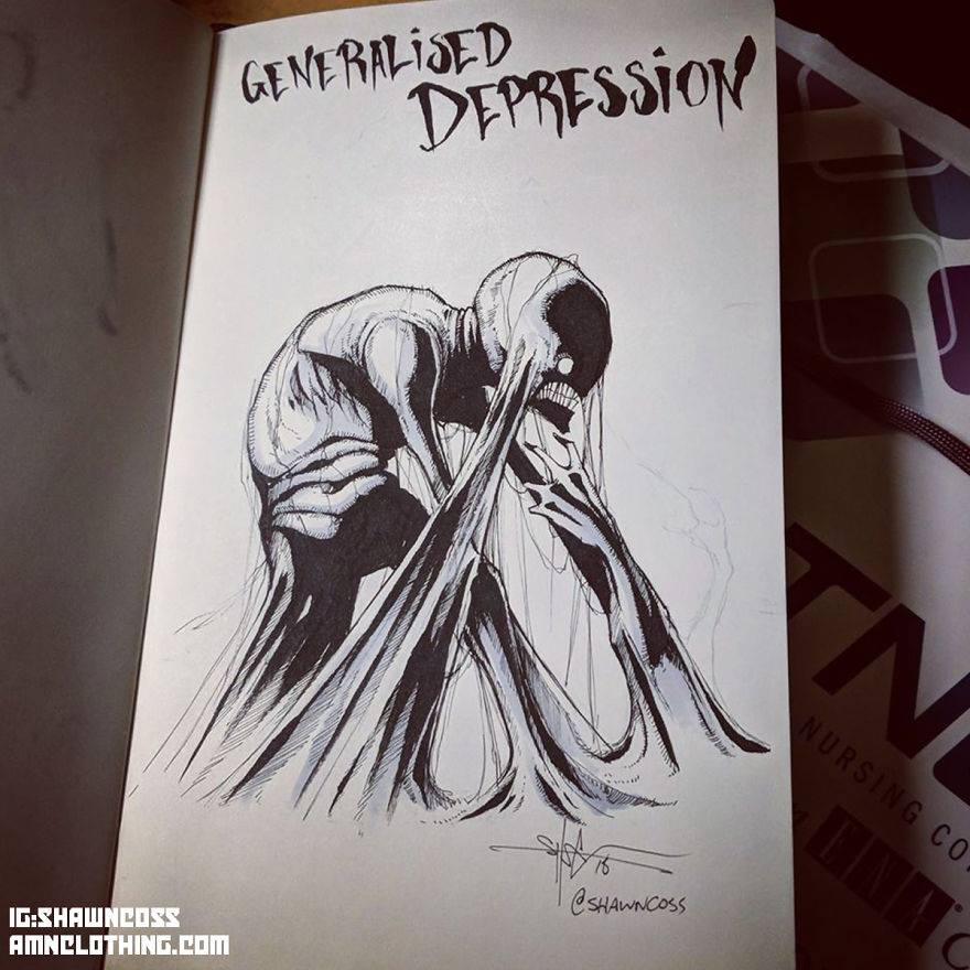 Mental Illness and Disorders Illustrated