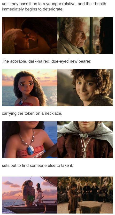 Moana Has the Same Plot as the Lord of the Rings