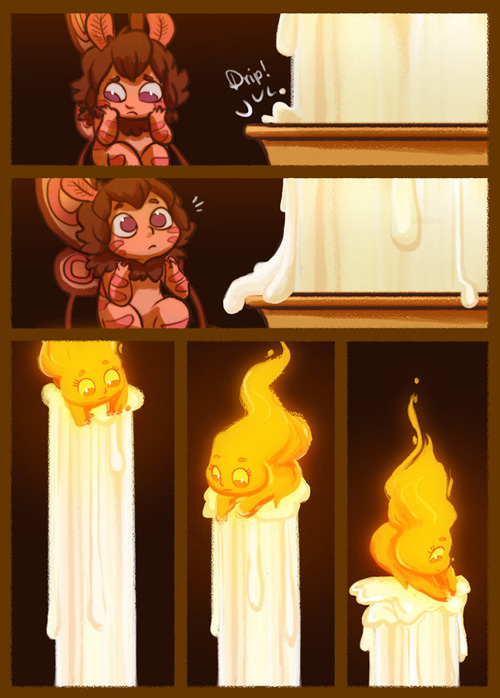 Moth and the Flame Comic