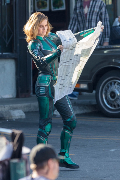 First Look at Brie Larson as Captain Marvel