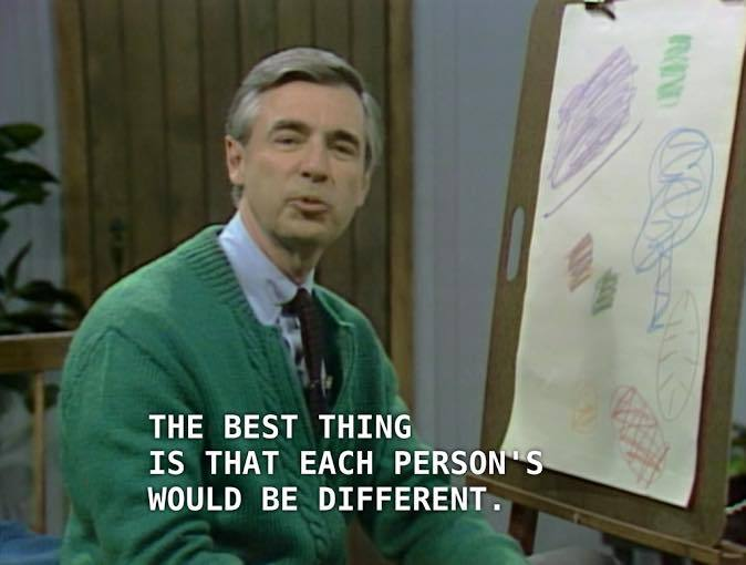 Mr. Rogers Drawing